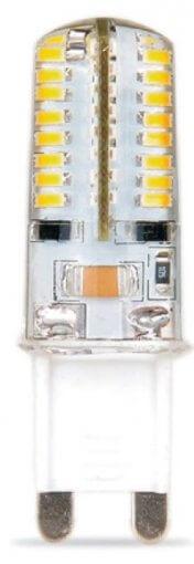 Lâmpada LED Bipino G9 3.5W 378lm Bivolt IP20 CTB