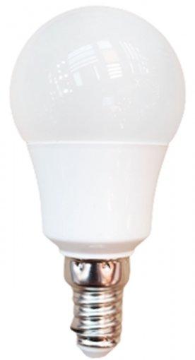 Lâmpada LED Bolinha G45 4,5W E14 Bivolt Branco Frio 6500K