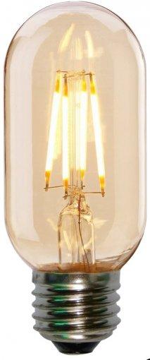 Lâmpada LED Filamento T45 4W E27 Thomas Edison  Branco Quente 2200K Bivolt