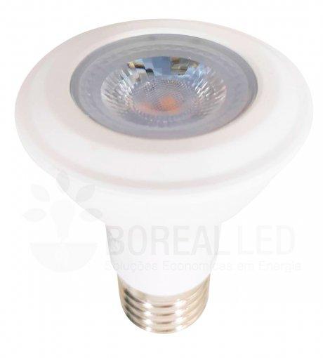 Lâmpada LED PAR20 7W Branco Frio 6500K E27 Bivolt