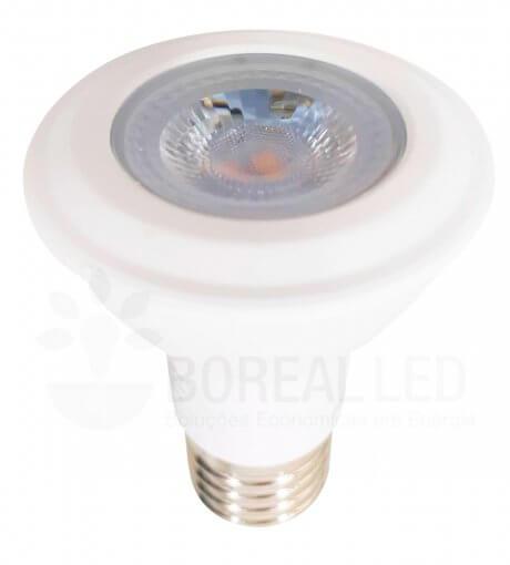 Lâmpada LED PAR20 7W Branco Neutro 4000K E27 Bivolt