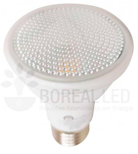 Lâmpada LED PAR20 7W Branco Quente 3000K E27 Bivolt