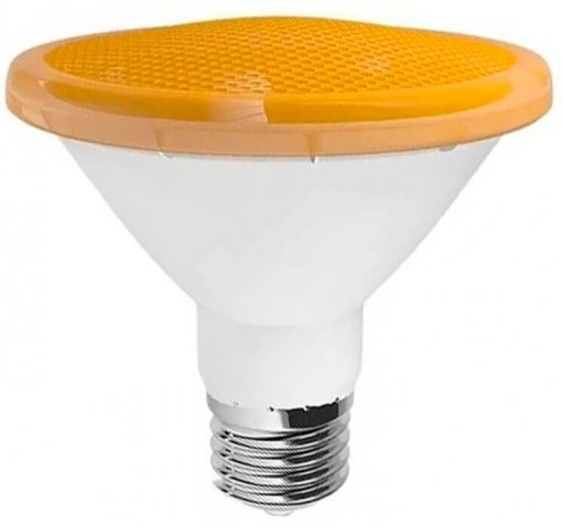 Lâmpada PAR20 Âmbar LED 7W E27 Bivolt 8 LEDS