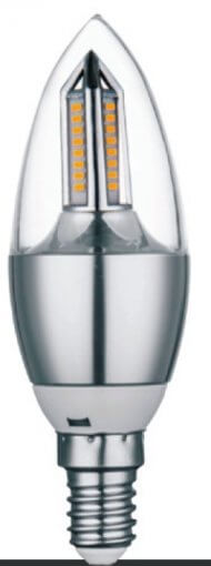Lâmpada Vela Cristal 4W LED 320lm E14 Bivolt IP20 CTB