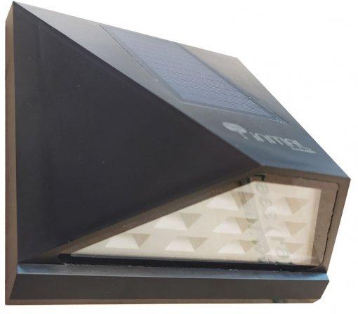 Luminária Arandela Solar Parede IP65 Branco Quente Initial