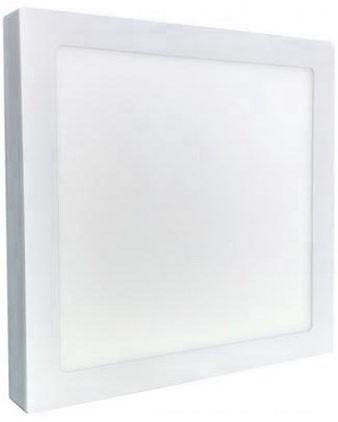 Painel Plafon LED Sobrepor 36W Quadrado 40X40cm Branco Frio