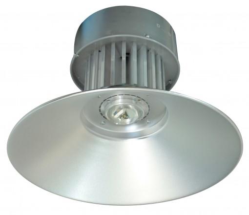 Luminária Prismática LED Pendente Galpão 50W Branco Frio 6000k Industrial Refletor