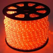 Mangueira de LED Rolo 100 Metros Vermelha 28 LEDS/m 12mm