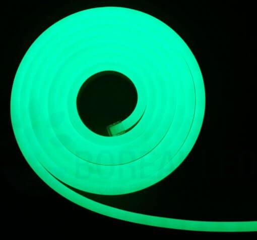 Mangueira LED Neon Flex Luz Verde 3m IP65 110V Uniled
