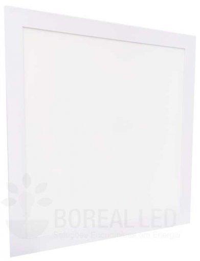 Painel Plafon LED Embutir 42W Quadrado 42x42cm Branco Frio 6K