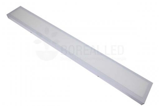 Painel Plafon LED Sobrepor 36W Retangular 15x120cm Branco Quente