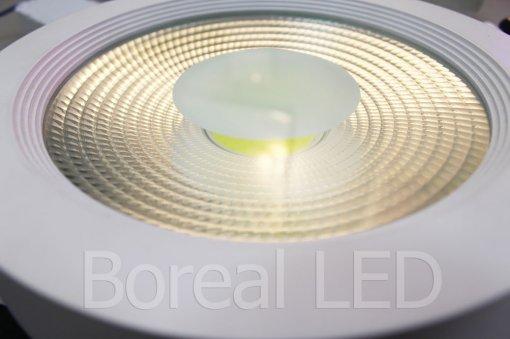 Plafon LED COB Sobrepor Redondo 40W Bivolt IP20 AXU