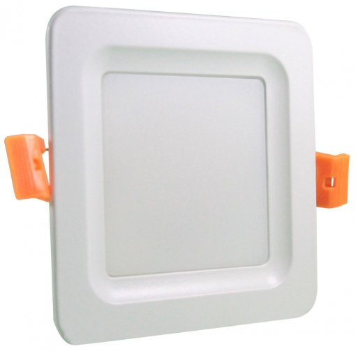 Plafon LED Embutir 12W 3 Cores Selecionáveis Quadrado