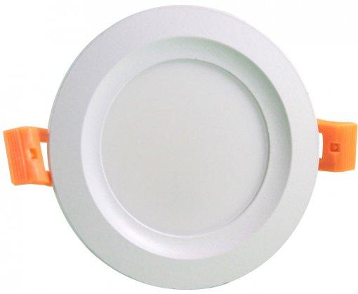 Plafon LED Embutir 12W 3 Cores Selecionáveis Redondo