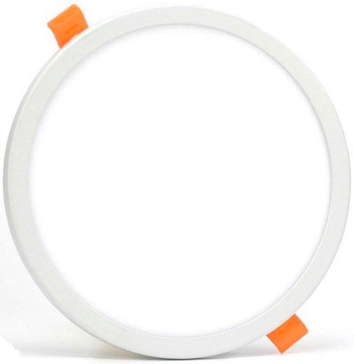 Plafon LED Embutir 24W Presilha Ajustável Nicho Redondo