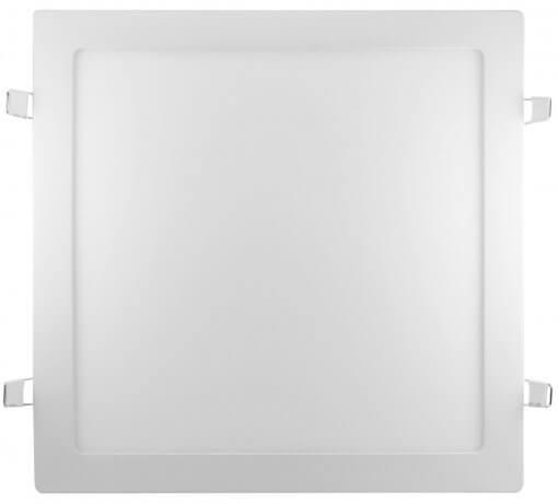 Plafon LED Embutir 36W Quadrado 40x40cm Bivolt