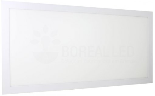 Plafon LED Embutir 36W Retangular 32x62cm Bivolt