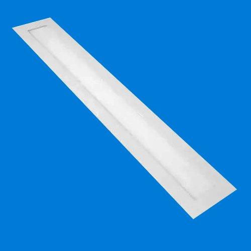 Plafon LED Embutir Retangular 18W 10x60cm Branco Frio 10cm x 600cm