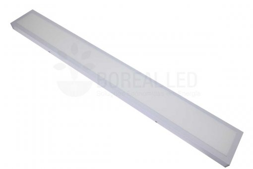 Painel Plafon LED Sobrepor 36W Retangular 15x120cm Branco Frio 6K