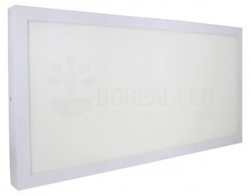Plafon LED Sobrepor Retangular 36W 60X30cm Bivolt