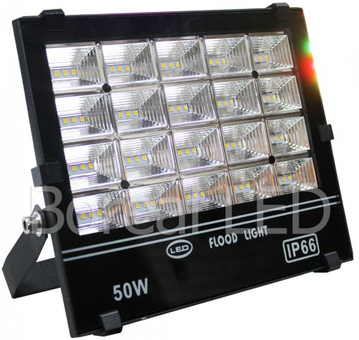 Refletor Holofote LED SMD 50W IP66 Bivolt AXU