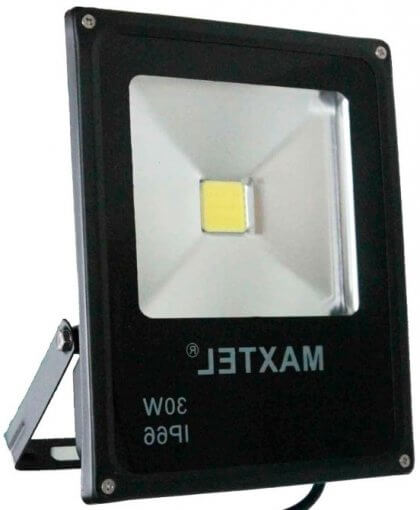 Refletor LED 30W Holofote Iluminação Externa Prova D'agua Bivolt IP66