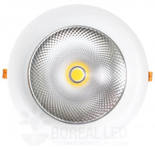Spot LED COB Downlight 60W Embutir Redondo Goodlighting