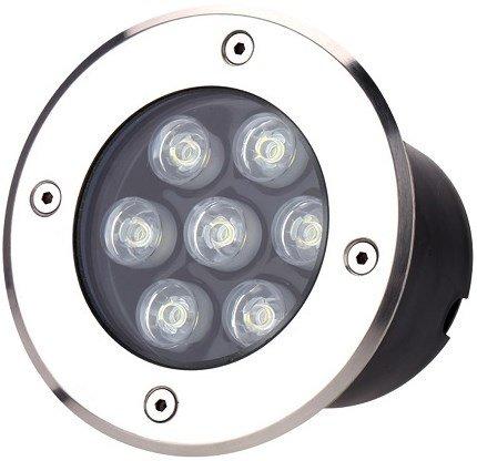 Spot LED Embutir Solo 7w Bivolt 3000k Ip 65 80 Lumens Gaya