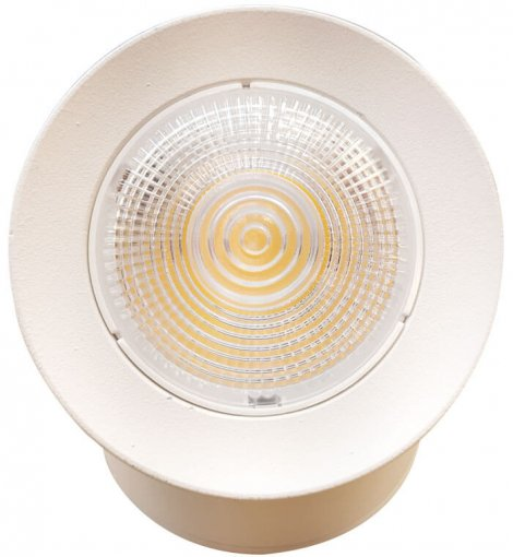 Spot LED Sobrepor Regulável 7W Branco Luz Branco Quente Bivolt