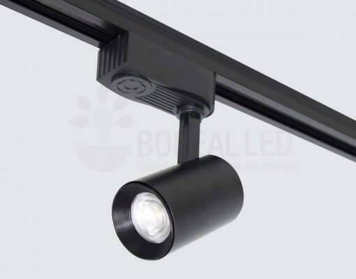 Spot Para Trilho LED 7W Luz Branco Quente 3000K Bivolt