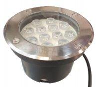 Imagem - Balizador Embutir Solo Chão 12W LED IP65 Biv 3000K Branco Quente cód: SOLO-CBC-12W-BQ