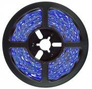 Imagem - Fita LED 2835 Azul 5 Metros 300 Leds 12V IP20 S/ Silicone cód: FITA2835AZULIP20
