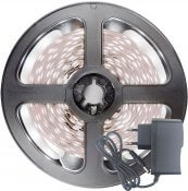 Imagem - Fita LED 2835 Branco Frio 300 Leds 5 Metros 12V IP20 S/ Silicone + Fonte cód: BFL-2835BFIP20FONTE