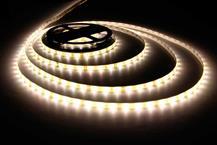 Fita LED Rolo com 5m 300 Leds Prova D'agua IP65 Branco Quente 3528