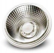 Imagem - Lâmpada AR111 Dimerizável LED COB 10W 127V Luz Branco Quente 3000K cód: SPOTAR111COBDIM127