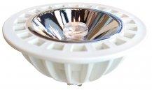 Imagem - Lâmpada LED AR111 11 watts Gu10 Bivolt Luz Branco Quente 3000K cód: 2841