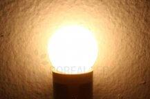 Imagem - Lâmpada LED Bolinha 1W Branco Quente E27 127V cód: BLBP-1W-127VBQ