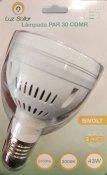 Imagem - Lâmpada LED PAR30 CDMR 43W Branco Quente 3000K E27 Bivolt Marca Luz Sollar cód: 2593