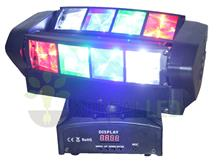 Imagem - Moving Spider Beam 8 Leds Osram De 5w Rgbw Original Dmx Dj cód: A-84