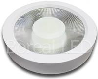 Imagem - Plafon LED COB Sobrepor Redondo 40W Bivolt IP20 AXU cód: XS-63COB40WBQ