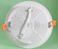 Plafon LED Embutir 18W 3 Cores Selecionáveis Redondo