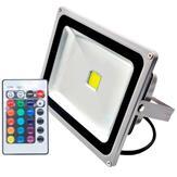 Imagem - Refletor Holofote LED RGB 100W IP66 com Controle Remoto cód: 169