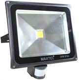 Refletor Led 50W Branco Frio Sensor de Presença IP66
