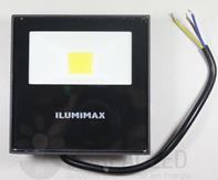 Refletor LED COB Slim 10W IP65 Preto Bivolt Ilumimax