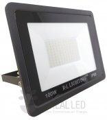 Imagem - Refletor LED SMD 100W Branco Quente Bivolt IP66 10.000lm Ângulo 120º cód: RL-PG100BQ