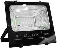 Imagem - Refletor LED SMD Solar 60W IP67 6000K 120º Controle Remoto + Placa Fotovoltaica cód: ROY-SOLAR-60W