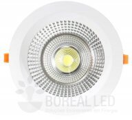 Imagem - Spot COB Downlight 45W Redondo Luz Branco Frio 6500K Goodlighting cód: GD-45W-RD-BF