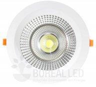 Imagem - Spot COB Downlight 45W Redondo Luz Branco Frio 6500K Goodlighting cód: GD-45W-BQ
