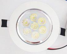 Imagem - Spot Embutir LED 7W Redondo Direcionável Branco Frio cód: SP-SMD7W-RD-BF