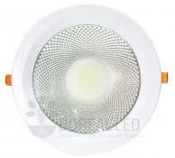 Imagem - Spot LED COB Downlight 30W Embutir Redondo Goodlighting cód: TD3002DBQ